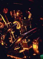 Como ajustar um carburador em uma motocicleta Honda 360