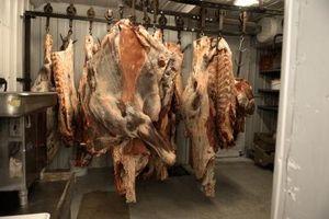 Vários cortes de carne