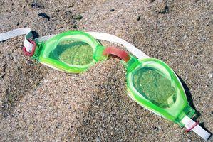 Como escolher óculos de natação
