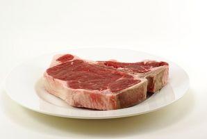 T-Bone Steak Instruções de Culinária