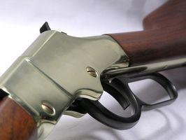 Como desmontar uma alavanca de acção Rifle