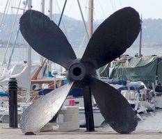 Como testar uma hélice de barco
