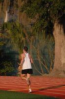 Como executar na pista para perder peso