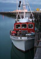 Como faço para encontrar Carta barco de pesca em Sitka, no Alasca?