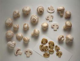 Como fazer refogados Button Mushrooms & Shallots