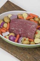 Como a cozinhar uma carne assada com legumes realmente concurso