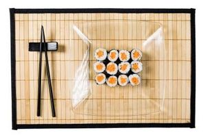 Como fazer sushi Mats