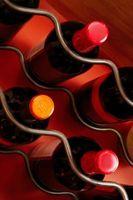 Por que você coloca uma garrafa de vinho Horizontal?