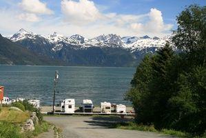 Como planejar uma terra de férias para o Alasca