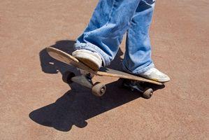 Como corrigir os caminhões de Skate