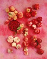 A diferença entre um pêssego e uma nectarina