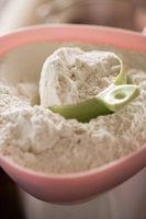 Medição adequada de cozimento Ingredientes