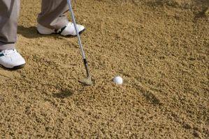 A diferença entre uma armadilha de areia & Bunker