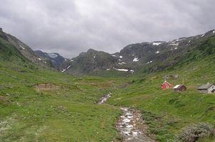Mountain Bike na Noruega