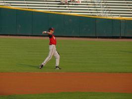 Brocas de beisebol longo Toss