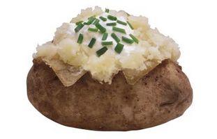 Como cozer batatas Tender