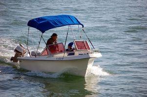 Especificações para um 115TL Johnson Outboard