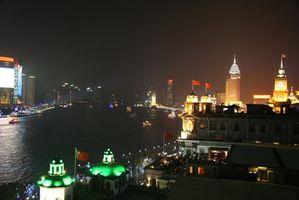 Shanghai Americana Restaurantes no Distrito de Pudong