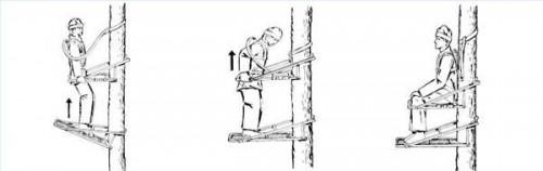 Como dobrar um stand de árvore de Stealth Ascent Escalada