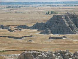 South Dakota Badlands Guia para a pesca da truta