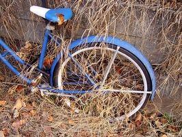 Como substituir os tubos da bicicleta