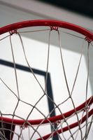 A altura de Basketball Hoops