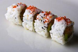 Sushi Arroz Preparação