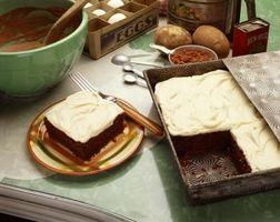 Como corrigir Over-Batido Cream Cheese Frosting