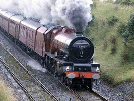 Quais são ferroviárias Locomotivas?