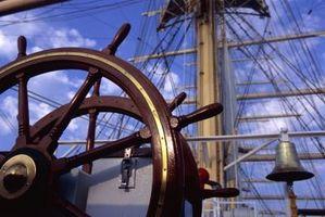 A história dos dois mastros do barco de vela