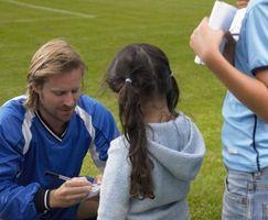 Como conseguir autógrafos dos jogadores