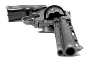 Como a placa de ouro Gun Parts