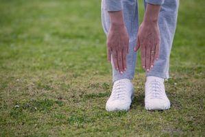 Como fazer um toque do dedo do pé