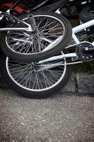Como atar uma 48-Hole BMX Roda