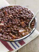 Como eu cozinho Gammon & Boston Beans?