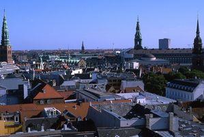 Atrações em Copenhague, na Dinamarca