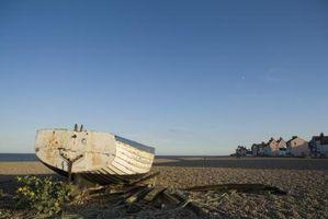 Como Registrar um barco abandonado no Texas