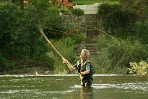 Como fazer um nó de Líder para Fly Fishing