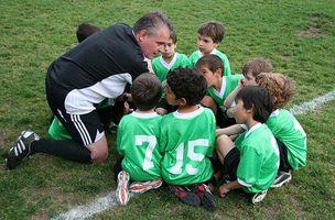 Os deveres do trabalho de um treinador de futebol