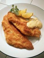 Como tirar o gosto de peixe Fora do Baixo branco Filetes
