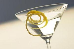 Como cortar limões para Guarnições bebida