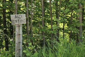 Regulamentos de caça Ohio na propriedade que você possui
