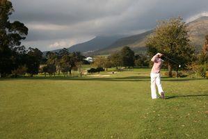 Hip & costas exercícios de golfe