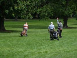 Quais são as regras de Four-man Melhor Bola de Golf?