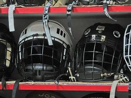 Como personalizar um capacete de hóquei