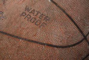 Como restaurar um aperto de um Basketball Couro