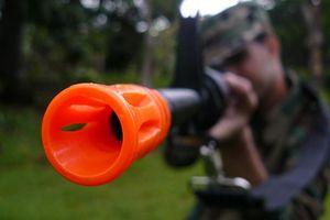 Até que ponto a D95 Airsoft Gun Atire?