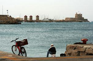Cruzeiros no Mediterrâneo a Rhodes, Grécia