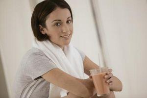 Agite Whey Protein vs. pós-treino de recuperação Bebida