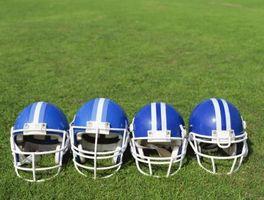 Como pintar um capacete de futebol e máscaras
